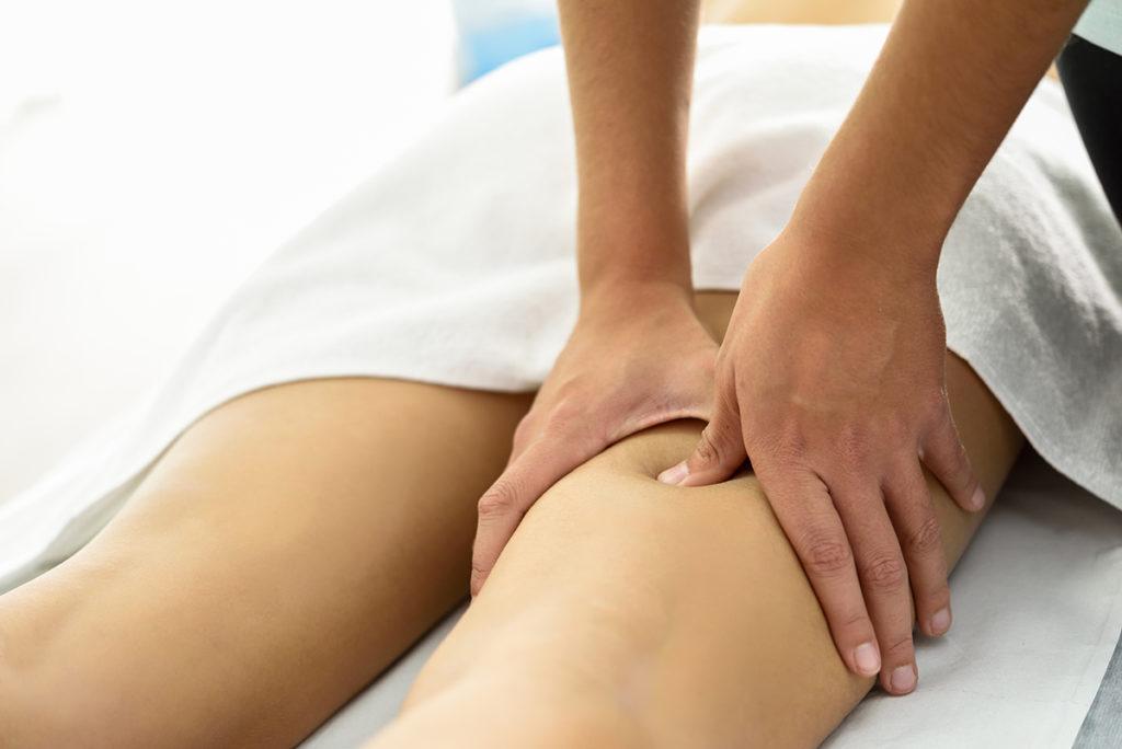 Masaje descarga de piernas